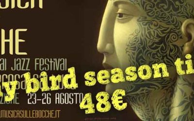 TICKETS FOR MUSICA SULLE BOCCHE FESTIVAL ARE AVAILABLE ON VIVATICKET