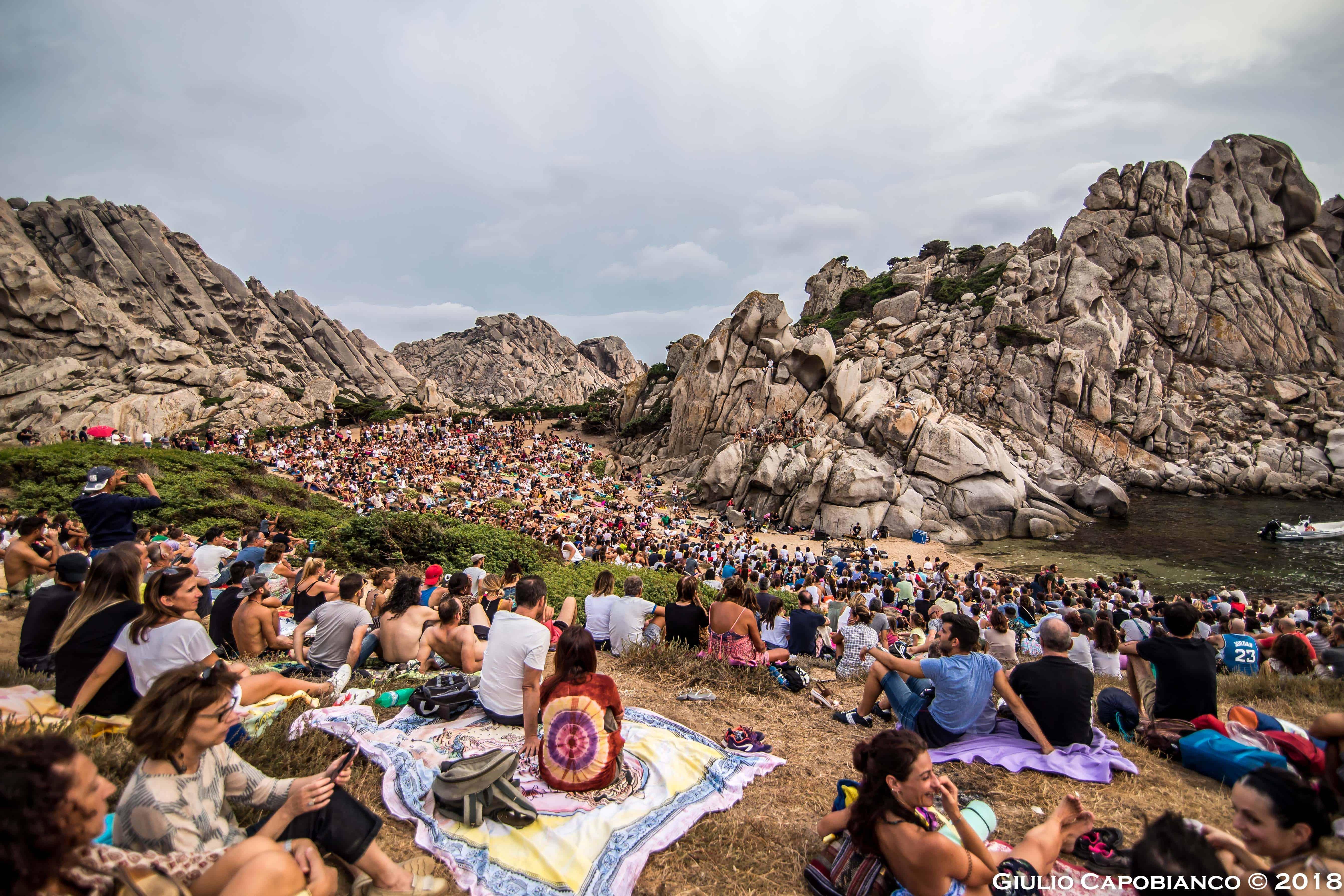 Concerto a Cala Grande valle della Luna fesrival Musica sulle Bocche 2018
